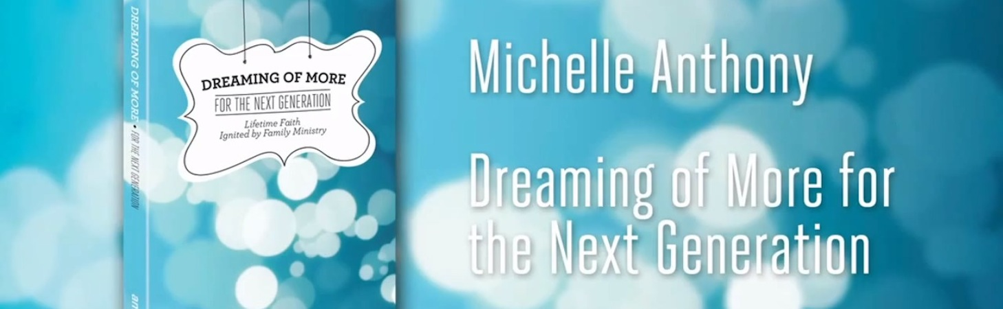 Dreaming of More for the Next Generation by Michelle Anthony